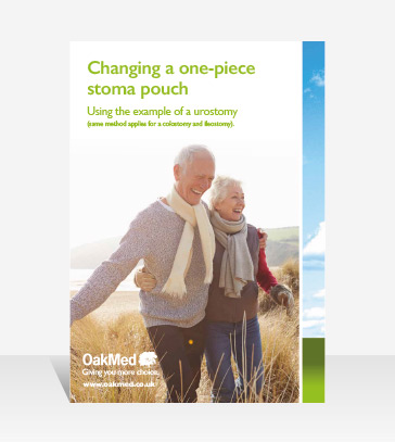 Changing a 1 piece Stoma Pouch