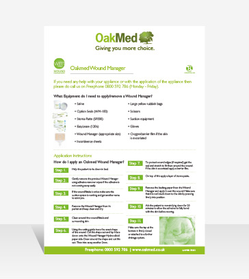 Wound Manager Flyer